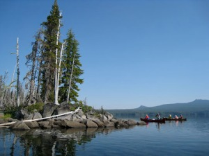Waldo Lake, Oregon